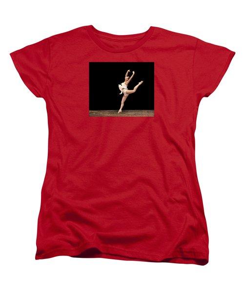Firebird Ballet Position Women's T-Shirt (Standard Cut)