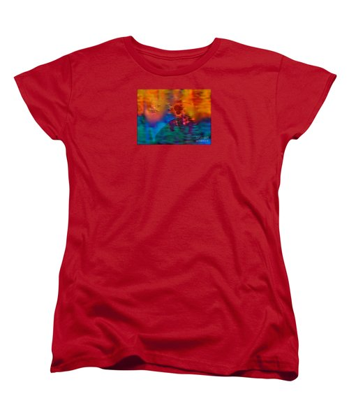 Firewall Berries Women's T-Shirt (Standard Cut) by Patricia Schneider Mitchell