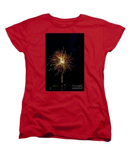Fireworks Women's T-Shirt (Standard Cut) by William Norton