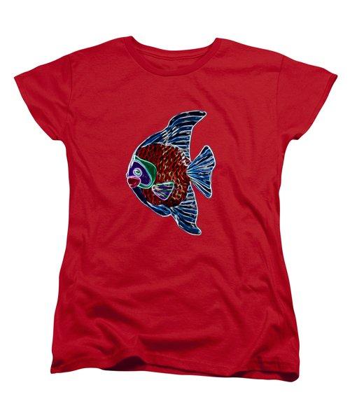 Fish In Water Women's T-Shirt (Standard Cut) by Shane Bechler