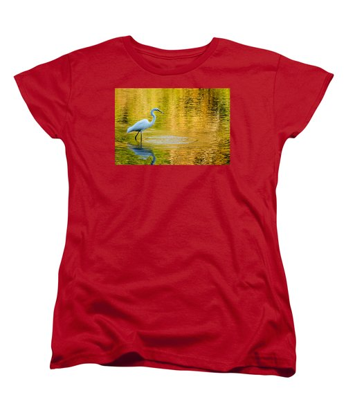Women's T-Shirt (Standard Cut) featuring the photograph Fishing 2 by Wade Brooks
