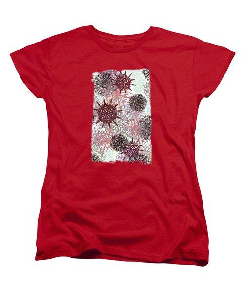 Flakes Love Women's T-Shirt (Standard Cut) by AugenWerk Susann Serfezi