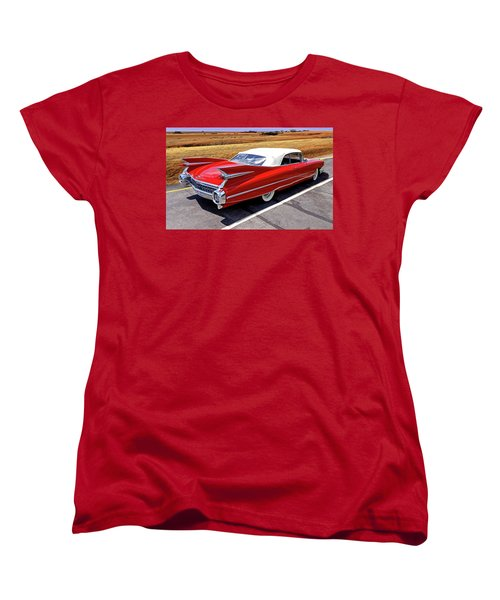 Women's T-Shirt (Standard Cut) featuring the photograph Flamboyant Fifty-nine by Christopher McKenzie