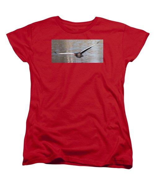 Women's T-Shirt (Standard Cut) featuring the photograph Flight by Sergey Simanovsky