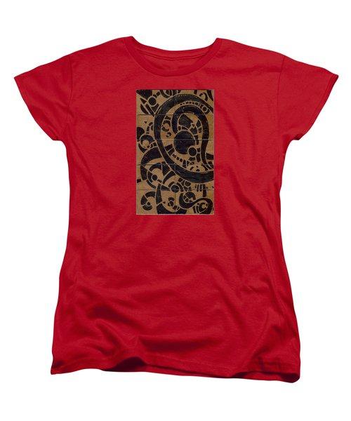 Flipside 1 Panel A Women's T-Shirt (Standard Cut) by Joseph A Langley