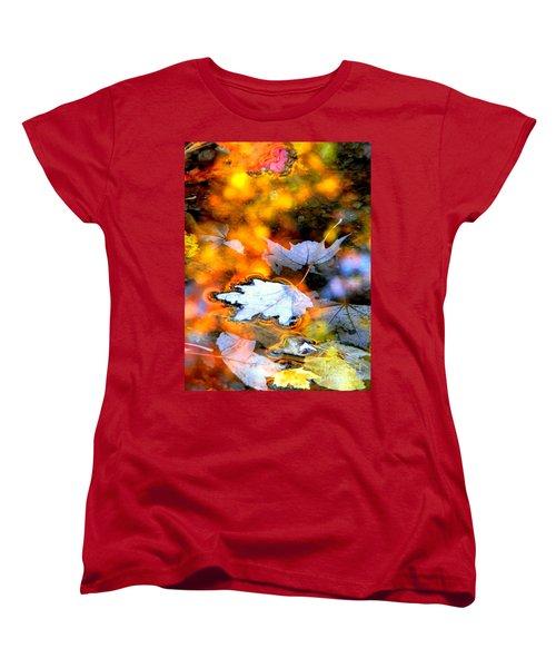 Floating Women's T-Shirt (Standard Cut) by Elfriede Fulda
