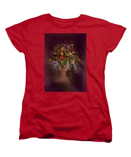 Floral Arrangement No. 2 Women's T-Shirt (Standard Cut) by Richard Cummings