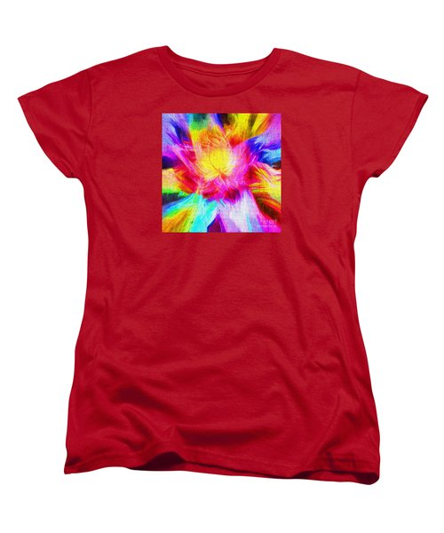 Women's T-Shirt (Standard Cut) featuring the photograph Floral Mandala 02 by Jack Torcello