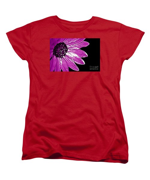 Flower Power  Women's T-Shirt (Standard Cut) by Juls Adams
