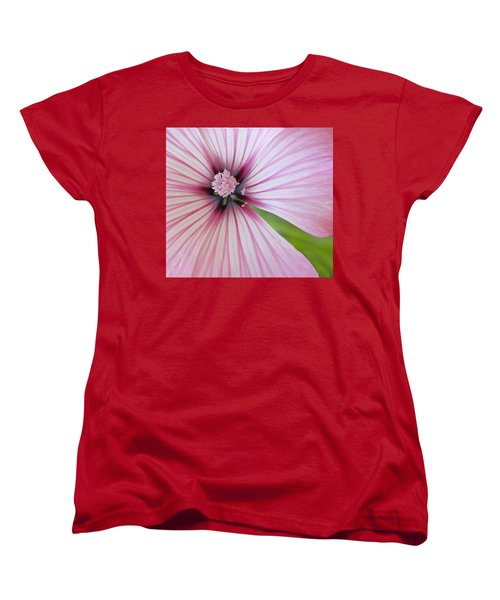 Flower Star Women's T-Shirt (Standard Cut) by Elvira Butler