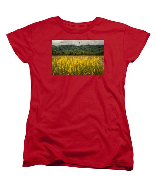 Flowers In Cades Cove Women's T-Shirt (Standard Cut) by Tyson Smith