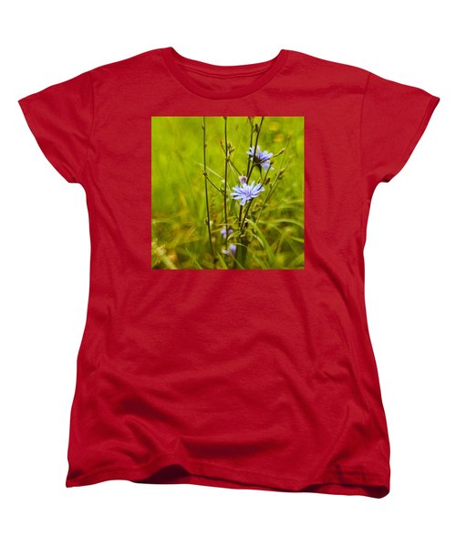 #flowers #lensbaby #composerpro Women's T-Shirt (Standard Cut) by Mandy Tabatt