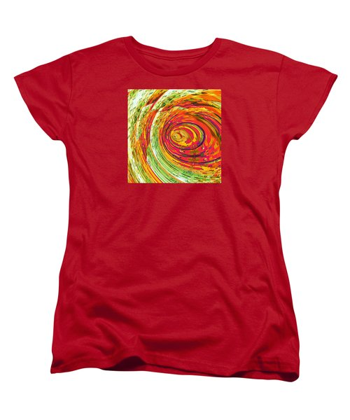 Fluorescent Wormhole Women's T-Shirt (Standard Cut)