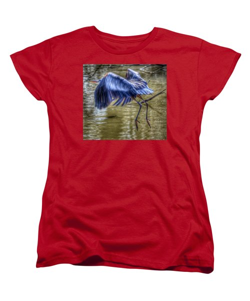 Fly Away Women's T-Shirt (Standard Cut) by Sumoflam Photography