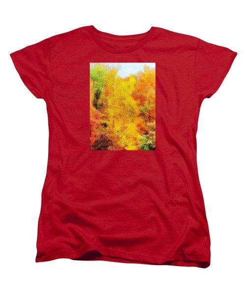 Forest Fire Women's T-Shirt (Standard Cut) by Craig Walters