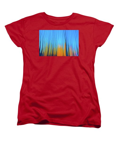 Women's T-Shirt (Standard Cut) featuring the photograph Forest Fire by Tony Beck