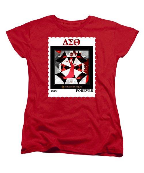 Forever Delta  Women's T-Shirt (Standard Cut) by Lynda Payton