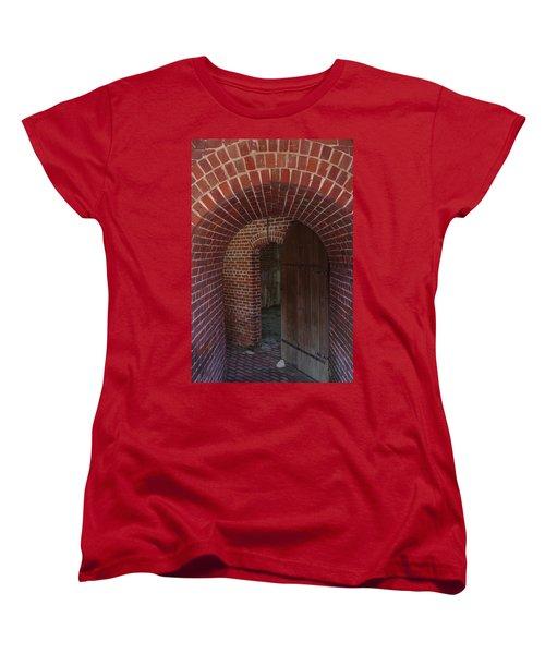 Women's T-Shirt (Standard Cut) featuring the photograph Fort East Martello by Greg Graham