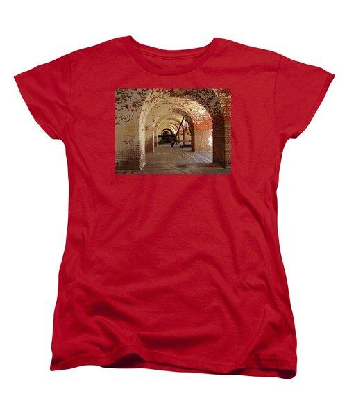 Fort Pulaski II Women's T-Shirt (Standard Cut) by Flavia Westerwelle
