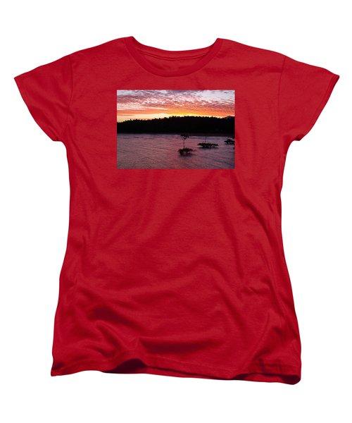 Four Elements Sunset Sequence 5 Coconuts Qld  Women's T-Shirt (Standard Cut) by Kerryn Madsen - Pietsch