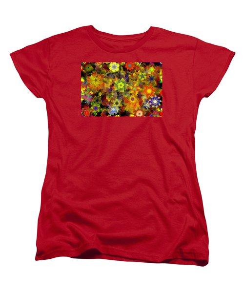 Fractal Floral Study 10-27-09 Women's T-Shirt (Standard Cut)