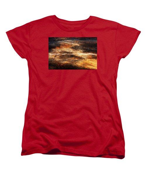 Women's T-Shirt (Standard Cut) featuring the photograph Fractured by Ryan Manuel
