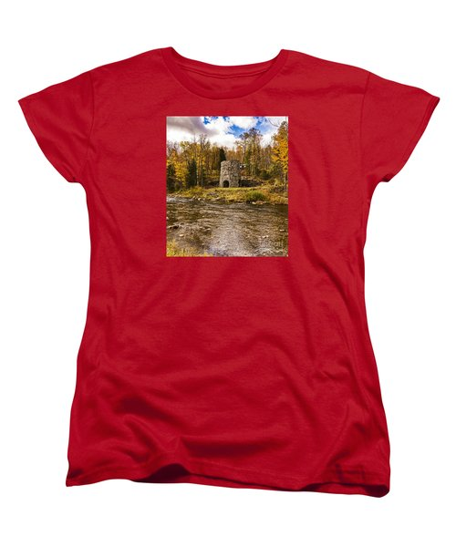 Franconia Fall Women's T-Shirt (Standard Cut) by Anthony Baatz