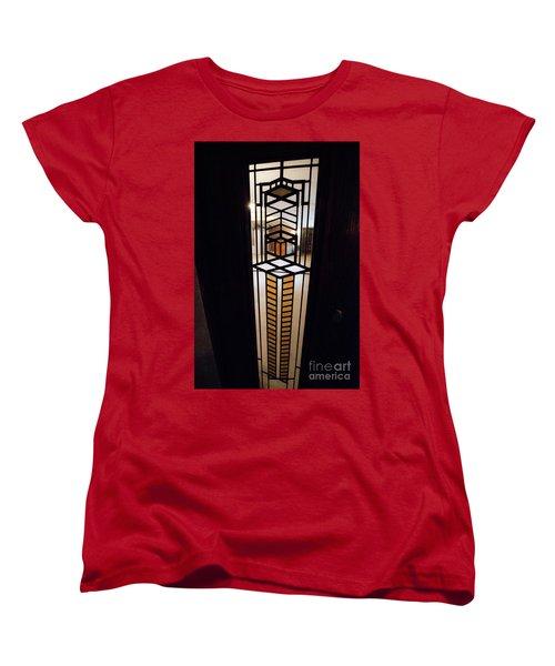 Frederick Robie House - 3 Women's T-Shirt (Standard Cut) by David Bearden