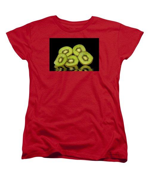 Fresh Kiwi Fruits Women's T-Shirt (Standard Cut)
