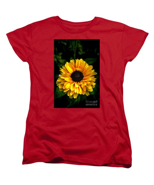 Women's T-Shirt (Standard Cut) featuring the photograph Frilly Rudi by Judy Wolinsky