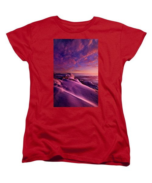 Women's T-Shirt (Standard Cut) featuring the photograph From Inside The Heart Of Each by Phil Koch