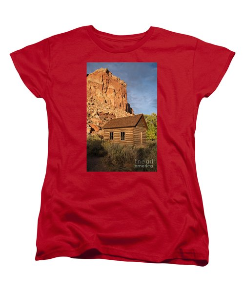 Fruita School Women's T-Shirt (Standard Cut) by Cindy Murphy - NightVisions
