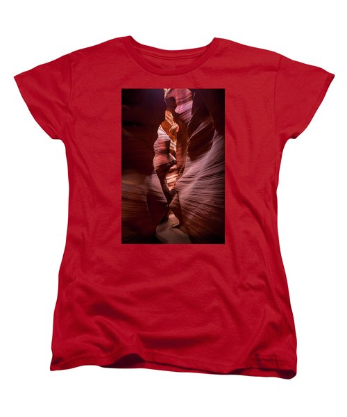 Women's T-Shirt (Standard Cut) featuring the photograph Further In The Canyon by Jon Glaser