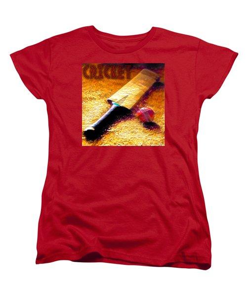 Game On Women's T-Shirt (Standard Cut) by Maria Watt