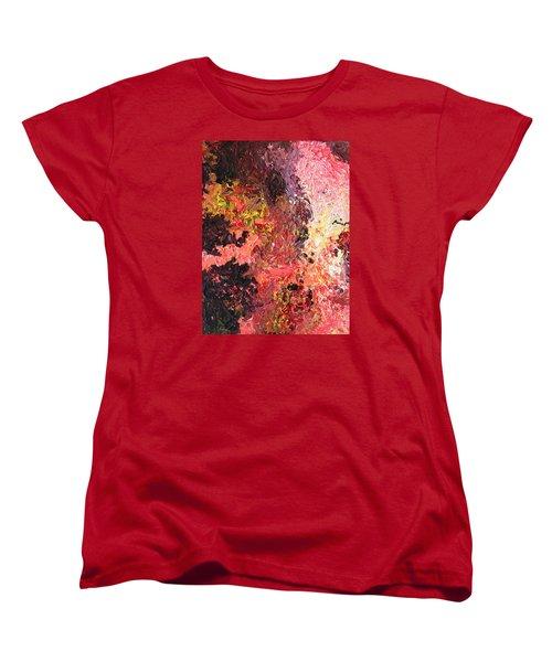 Ganesh In The Garden Women's T-Shirt (Standard Cut) by Ralph White
