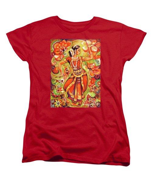 Ganges Flower Women's T-Shirt (Standard Cut) by Eva Campbell