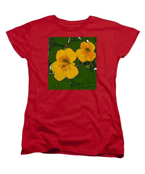 Garden Love Women's T-Shirt (Standard Cut) by Winsome Gunning