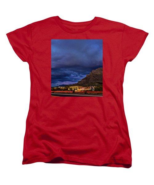 Gathering Storm Op51 Women's T-Shirt (Standard Cut) by Mark Myhaver