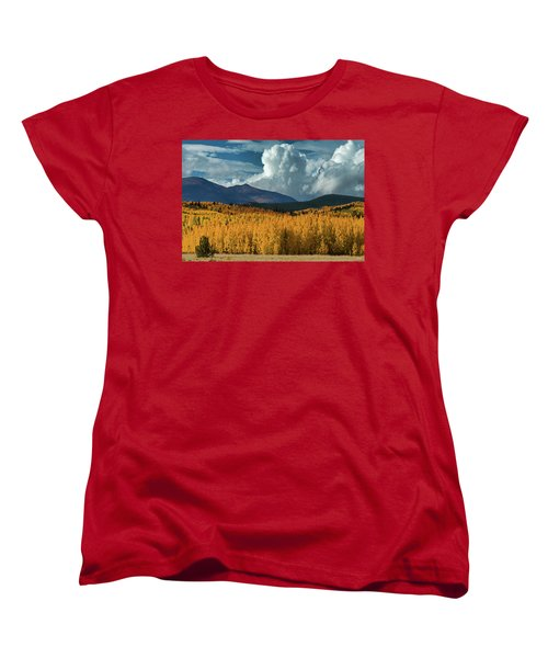 Gathering Storm - Park County Co Women's T-Shirt (Standard Cut) by Dana Sohr