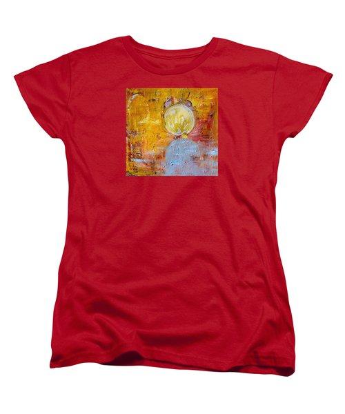 Women's T-Shirt (Standard Cut) featuring the painting Genesis by Evelina Popilian