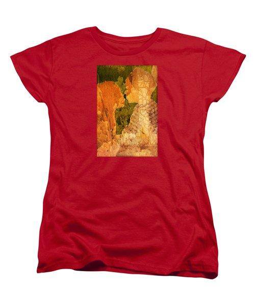 Gentle Sweet Kiss Women's T-Shirt (Standard Cut) by Andrea Barbieri