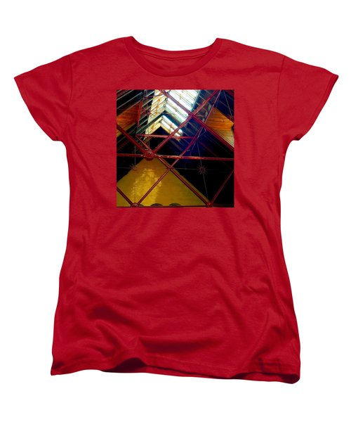Geometric And Suns  Women's T-Shirt (Standard Cut)