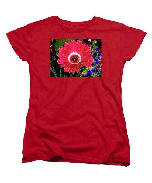 Gerbera Bella Women's T-Shirt (Standard Cut) by Mariola Bitner