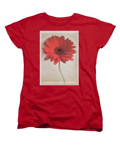 Women's T-Shirt (Standard Cut) featuring the photograph Gerbera Daisy by Lyn Randle