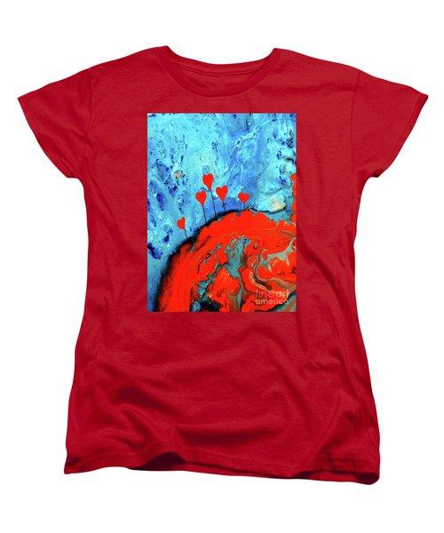 Germinating Love Women's T-Shirt (Standard Cut)