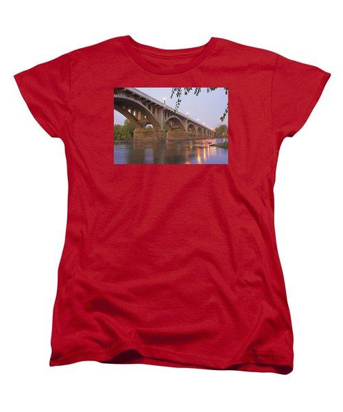 Gervais Bridge Women's T-Shirt (Standard Cut) by Steven Richardson