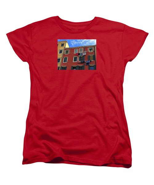 Women's T-Shirt (Standard Cut) featuring the photograph Getting To Know You by Lynda Lehmann