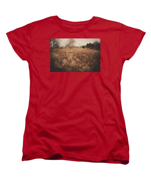 Women's T-Shirt (Standard Cut) featuring the photograph Ghost by Shane Holsclaw