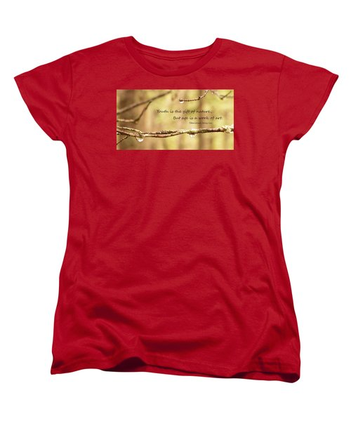 Gift Of Art Women's T-Shirt (Standard Cut)