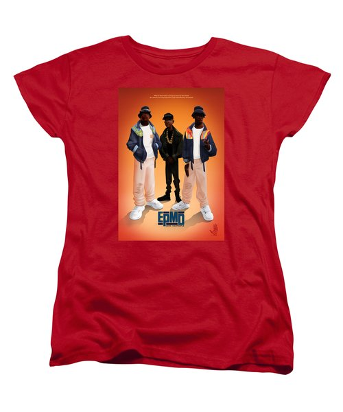 Women's T-Shirt (Standard Cut) featuring the digital art Give The People by Nelson dedos Garcia